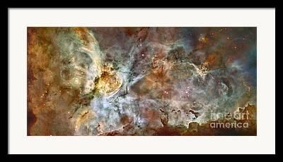 Interstellar Clouds Framed Prints