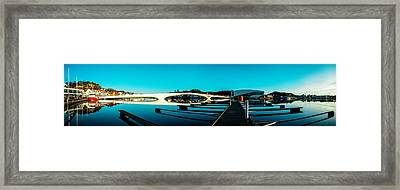 The Centrum Of Mandal Framed Print