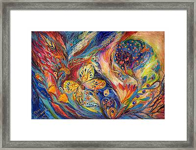 The Chagall Dreams Framed Print by Elena Kotliarker
