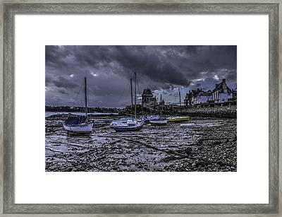 The Chain Framed Print by Karo Evans
