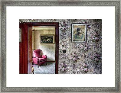Framed Print featuring the photograph The Chair Of Lost Opportunities by Dirk Ercken