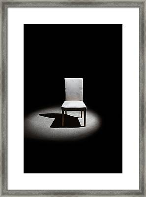 The Chair Framed Print by Peter Tellone