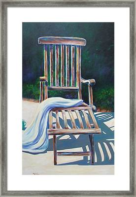 The Chair Framed Print by Shannon Grissom