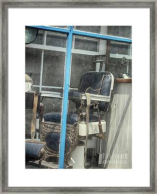 The Chair  Framed Print by Steven Digman