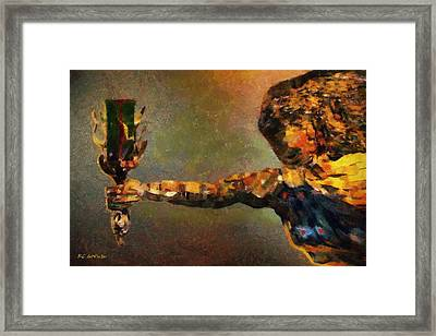 The Chalice Framed Print by RC deWinter