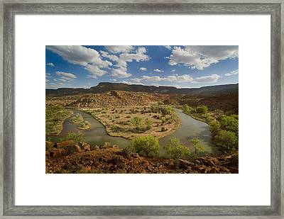 The Chama River Framed Print