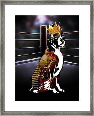 The Champ Framed Print