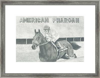 The Champ Framed Print by Russell Britton