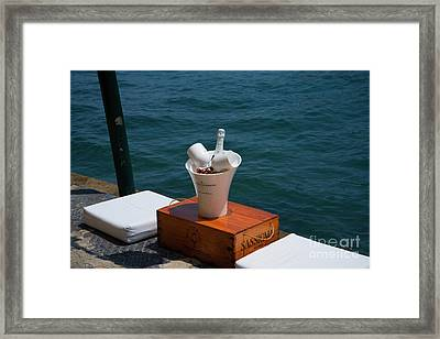 Luxurious Positano Framed Print by Brenda Kean
