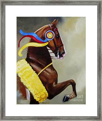 The Champion Framed Print
