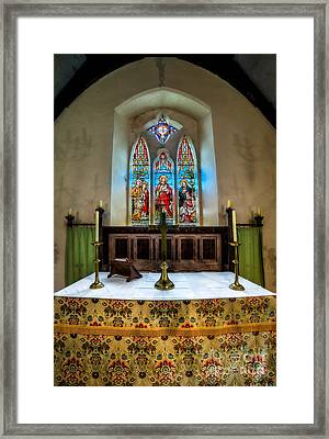 The Chancel Framed Print by Adrian Evans