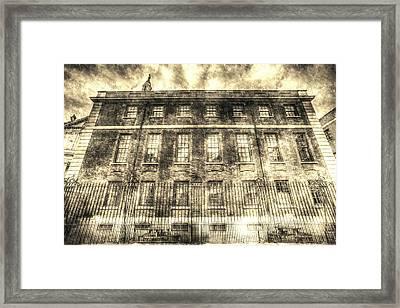 The Chapter House London Vintage Framed Print