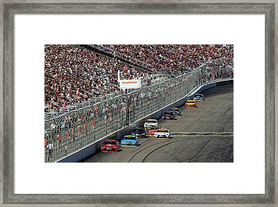 The Chase Is On Framed Print by Juergen Roth