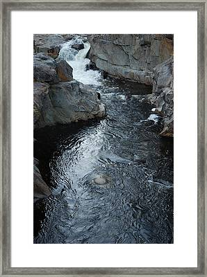 The Chasm Framed Print by Clay Peters Photography
