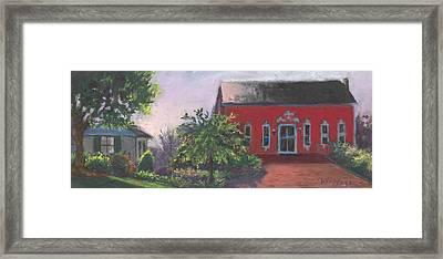 The Chateau Barn Framed Print by Terri  Meyer
