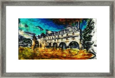 The Chateau Framed Print