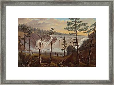 The Chaudiere Falls Framed Print