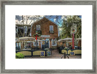 The Cheese Shop Framed Print