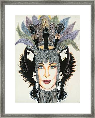 The Cher-est Painting Framed Print by Joseph Lawrence Vasile
