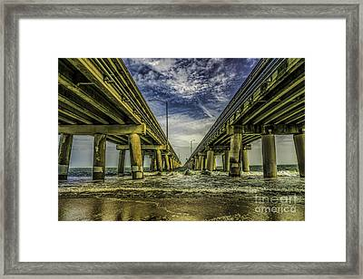 The Chesapeake Bay Bridge Framed Print