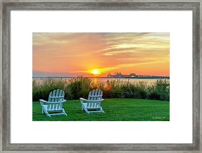 The Chesapeake Framed Print