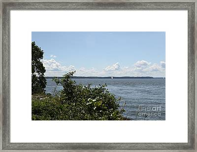 The Chesapeake From Turkey Point Framed Print
