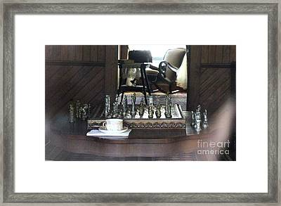The Chess Board Framed Print