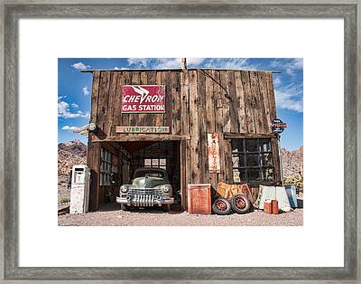 The Chevron Station  Framed Print