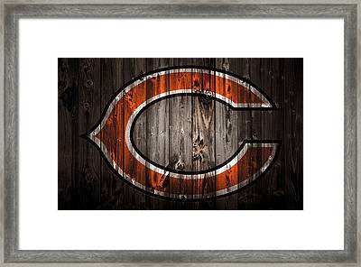 The Chicago Bears 2c Framed Print by Brian Reaves