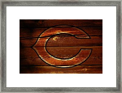 The Chicago Bears 3a Framed Print