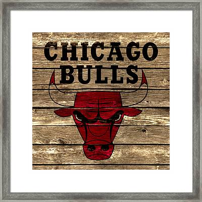 The Chicago Bulls 2a Framed Print