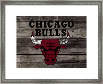 The Chicago Bulls W10 Framed Print