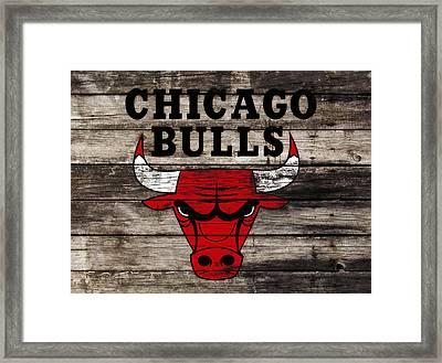 The Chicago Bulls W12 Framed Print