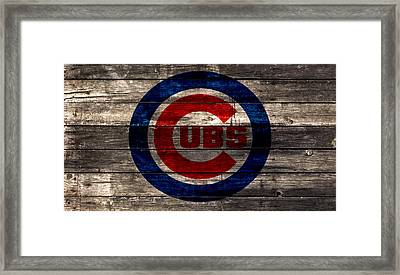 The Chicago Cubs 1w Framed Print