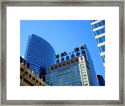The Chicago Group Framed Print by DB Artist