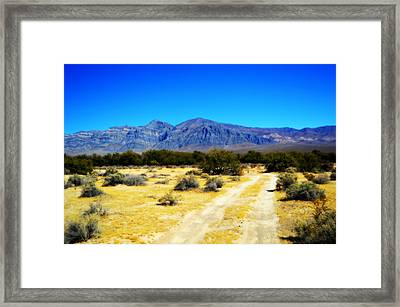 The Chicago Valley Framed Print