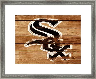 The Chicago White Sox 3b Framed Print by Brian Reaves