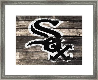 The Chicago White Sox 3f Framed Print by Brian Reaves