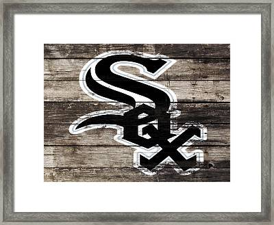 The Chicago White Sox 3i       Framed Print by Brian Reaves
