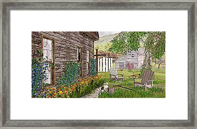 The Chicken Coop Framed Print