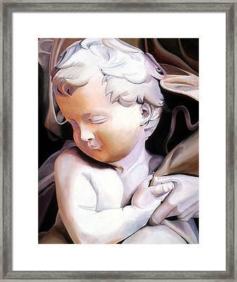 The Child From Michaelangelo Framed Print