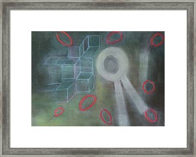 The Childish In One's Heart Framed Print