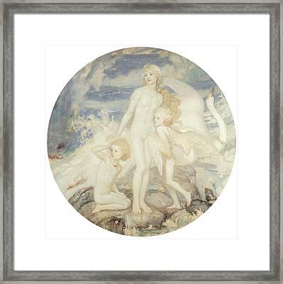 The Children Of Lir Framed Print by John Duncan