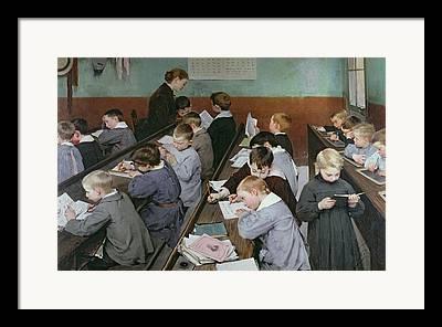 Schoolboy Framed Prints