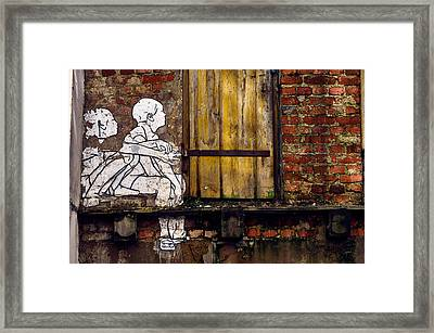 The Child's View Framed Print
