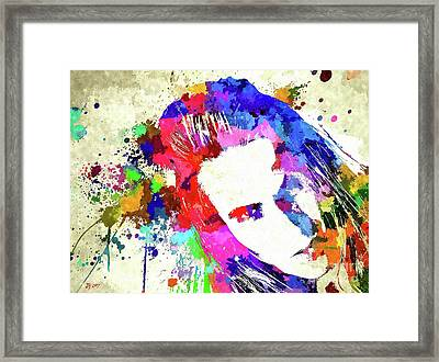 The Chili Peppers Framed Print by Daniel Janda