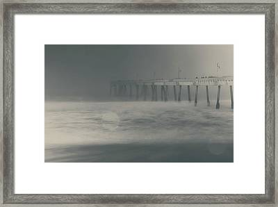 Framed Print featuring the photograph The Chill In My Bones by Laurie Search