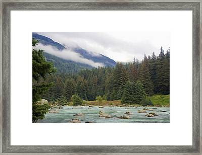 The Chillkoot River 2 Framed Print