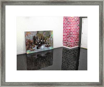 The Chimney Art Framed Print