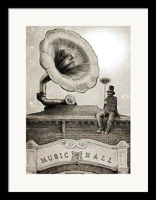 Nostalgia Drawings Framed Prints